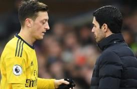 Bos Arsenal Arteta : Keputusan Soal Ozil Harus Tepat untuk Semua Pihak