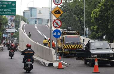 Konstruksi Tuntas, 2 Flyover di Bandung Sudah Bisa Digunakan