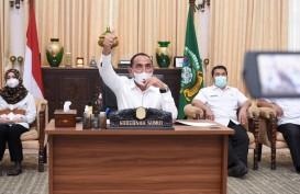 Gubernur Sumut Minta Bupati dan Wali Kota Terjun Siapkan Vaksinasi Covid-19