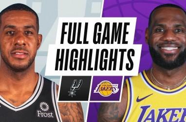 Hasil Basket NBA, Spurs Gasak Juara Bertahan Lakers