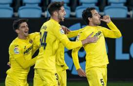 Hasil La Liga Spanyol : Hajar Celta, Villarreal Gusur Barcelona