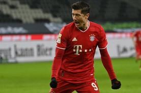 20 Gol, Lewandowski Top Skor Bundesliga Jauh Tinggalkan…