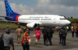Bandara Supadio Ramai Didatangi Keluarga Penumpang Pesawat Sriwijaya SJY 182