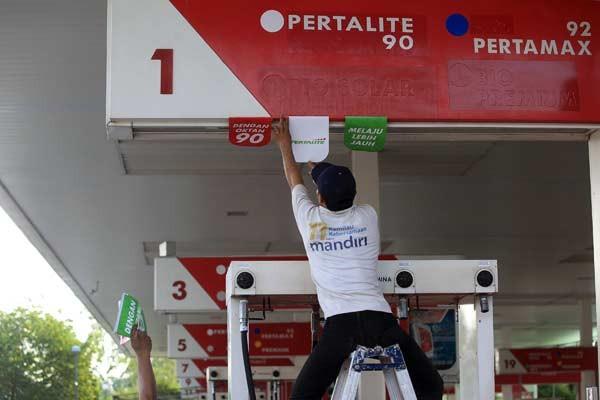 Pertalite. Jawa Tengah dan DIY merupakan provinsi yang konsumsi bahan bakar khususnya Pertalite dan Pertamax lebih tinggi dibandingkan dengan provinsi lain.  - Antara