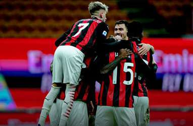 Hasil Liga Italia : Milan Hajar Torino, Atalanta Gusur Juventus