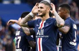 Hasil Lengkap Liga Prancis, PSG Pangkas Jarak dari Lyon