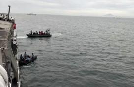 Menhub Bersama Panglima TNI Tinjau Titik Diduga Jatuhnya Pesawat Sriwijaya Air