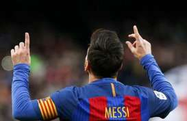 Cetak 2 Gol Lagi, Lionel Messi Top Skor La Liga Spanyol