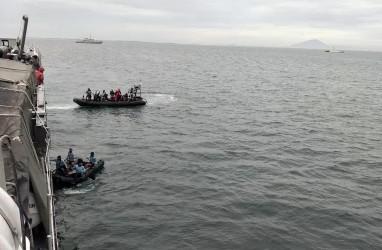 Kementerian KKP Terjunkan Kapal Pengawas Bantu Pencarian Pesawat Sriwijaya Air