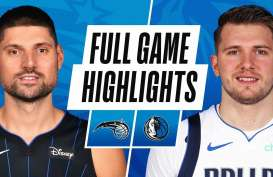 Hasil Basket NBA : Tanpa 3 Andalan, Mavericks Tundukkan Magic