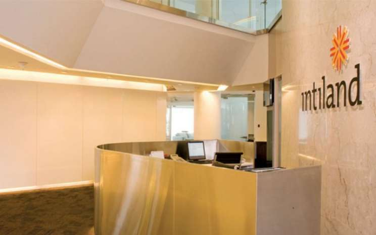 Salah satu sudut ruangan di Intiland Office Tower Jakarta. Gedung perkantoran yang berlokasi di Jalan Jenderal Sudirman, Jakarta itu merupakan salah satu portofolio andalan PT Intiland Development Tbk. - intiland.com