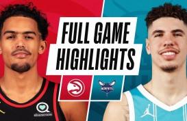 Hasil Basket NBA : Hornets Sikat Hawks, Ball Cetak Triple-Double