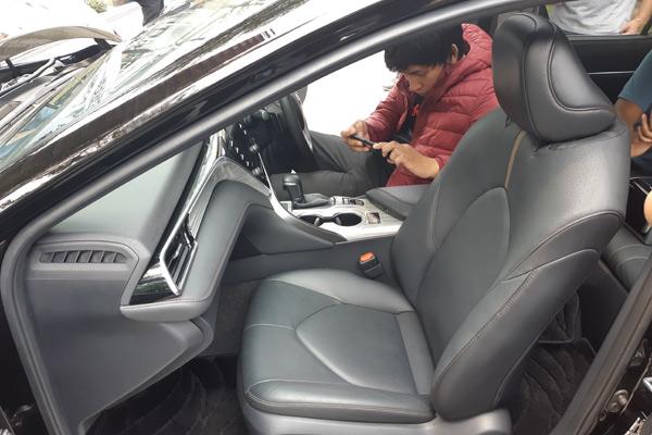 Interior all-new Toyota Camry.  - Bisnis.com/Aprianus