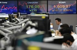 Reli Terhenti di Awal Pekan, Bursa Asia Tergelincir
