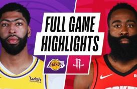 Hasil Basket NBA : Pulih dari Cedera, Davis Bawa Lakers Hajar Rockets