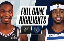 Hasil Basket NBA : Minnesota Timberwolves Hajar San Antonio Spurs