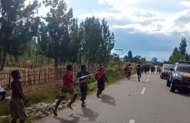 KKB Berulah, Dua Tower Telkom di Papua Ludes Dibakar