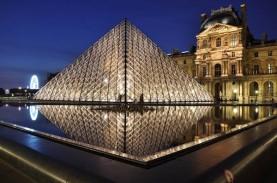 Pandemi Corona, Pengunjung Museum Louvre Anjlok 72…