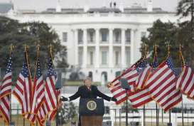 Trump dan Pence Sepakat Bekerja Sama sampai Akhir Masa Jabatan