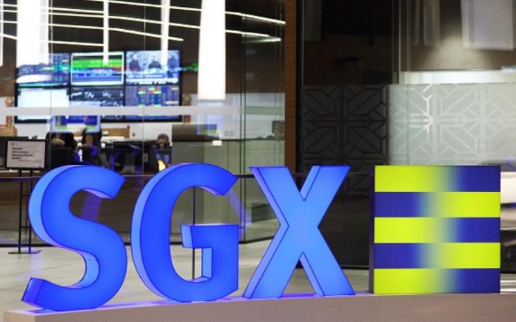 Logo Singapore Exchange. - Bloomberg