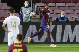 Eto'o Yakin Ansu Fati Bakal Jadi Penerus Messi di…