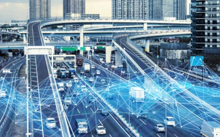 Kota Pintar. Bridgestone World memungkinkan pengguna untuk mengintip lingkungan perkotaan, pinggiran kota, industri, dan transportasi di kota masa depan.  - Bridgestone