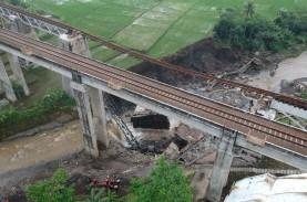 Sempat Roboh, KAI Segera Bangun Jembatan KA di Brebes…