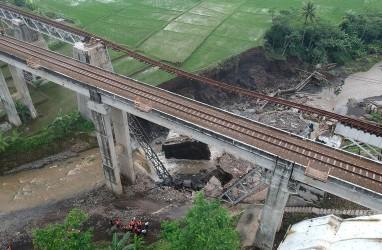 Sempat Roboh, KAI Segera Bangun Jembatan KA di Brebes