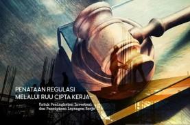 Pemerintah Rampungkan 35 Draf Aturan Turunan UU Cipta…