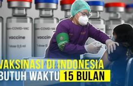 Lama Juga Nih, Vaksinasi di Indonesia Butuh Waktu 15 Bulan