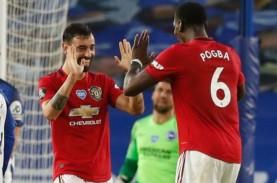 Hasil Liga Inggris: Pogba Senang MU Naik ke Puncak…