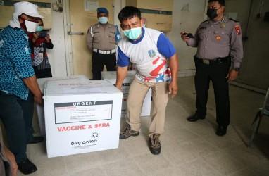 Distribusi Vaksin di Jatim Dilakukan Bertahap