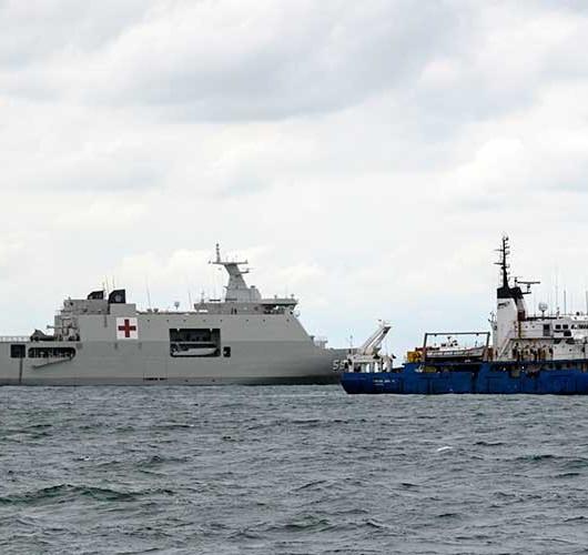 BPPT Terjunkan Kapal Riset Baruna Jaya IV Untuk Melakukan Pencarian CVR Sriwijaya Air SJ182