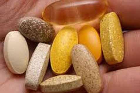 Ilustrasi vitamin.