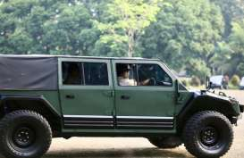 Prabowo Pesan 500 Unit Rantis Maung dari PT Pindad