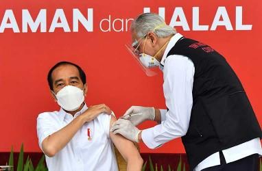 Unggah Kartu Vaksinasi Covid-19, Jokowi Disuntik Dosis Kedua Vaksin 27 Januari