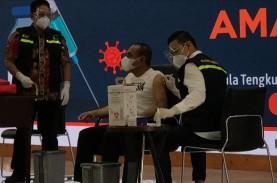 Vaksinasi Perdana di Sumut, Gubernur Jadi Orang Pertama…