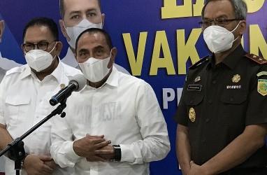 Usai Divaksin, Gubernur Sumut: Rasanya Makin Sehat