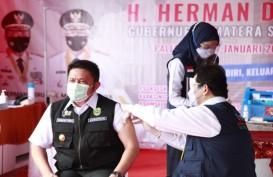 Suntikan Vaksin Covid-19 Perdana untuk Gubernur Sumsel