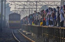 Hari Keempat PPKM, Pengguna KRL Berkurang 5 Persen dari Pekan Lalu