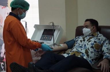 Sembuh dari Covid-19, Anies Donorkan Plasma Darah Konvalesen