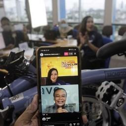 Pengundian Dorprize Bisnis Indonesia Virtual Cycling