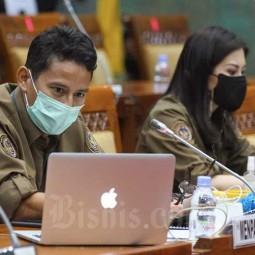 Sandiaga Uno Sampaikan Strategi Dalam Mendongkrak Pariwisata Indonesia Saat Raker Dengan DPR