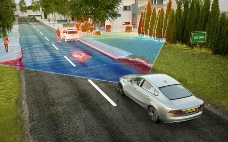 Radar prasyarat penting untuk mengemudi otomatis.  - Continental
