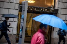 Meski Banjir Katalis Positif, Bursa AS Ditutup Turun