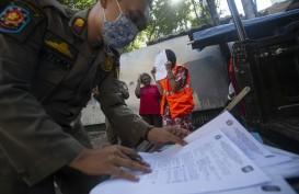 Jakarta PSBB Ketat, 1.538 Orang Tak Pakai Masker Ditindak