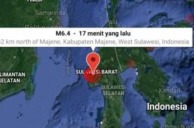 Gempa di Sulawesi Barat, BNPB: Warga Panik Masih di…