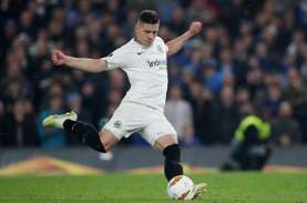 Striker Real Madrid Luka Jovic Pulang ke Frankfurt