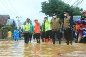 Banjarbaru Darurat Banjir, Seluruh Aktivitas Masyarakat…