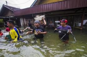 Banjir di Hulu Sungai Tengah, Kalimantan Selatan,…